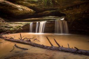 Hocking Hills - Vodopády